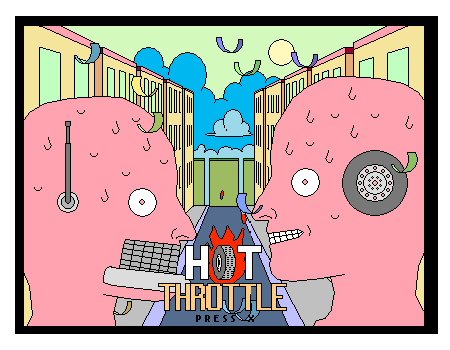 Hot Throttle Title Screen