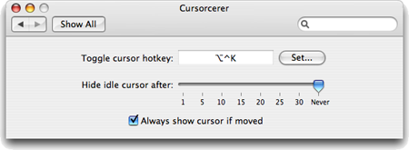 Cursorcerer: Hide Your Cursor at Will - Doomlaser
