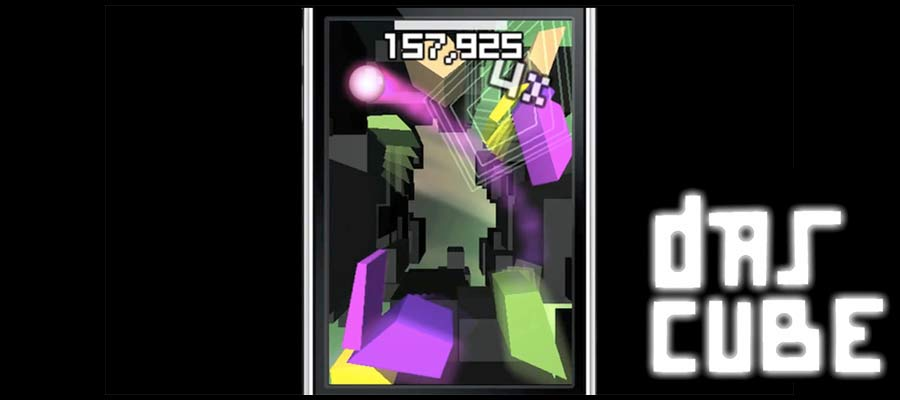 Das Cube, a 3d action puzzle game for iOS